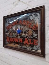 Newcastle Brown Ale Mirror (DELIVERY AVAILABLE)