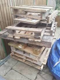 Freebies wood pallets, firewood