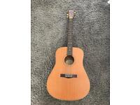 Fender acoustic with hard case