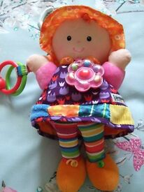 LAMAZE TOY - EMILY DOLL - GREAT CONDITION