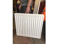 White double convector radiator 720 x 700