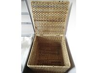 Side table/Storage basket – good condition