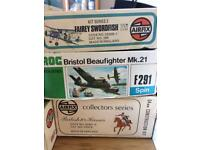 Airfix / Revell / Frog models in boxes all complete and other items