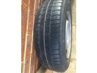2x 14 inch tyres