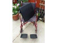 COOPERS LIGHTWEIGHT WHEELCHAIR