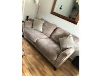 Large 2/3 Seater Sofa in Taupe