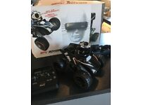 SPY BOT 4 wheel drive VR camera and glasses