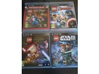 Ps3 games lego