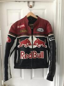 Red Bull Motorbike Leather Jacket