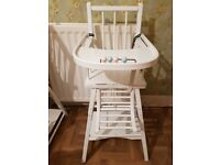 Beautiful Vintage Style Highchair