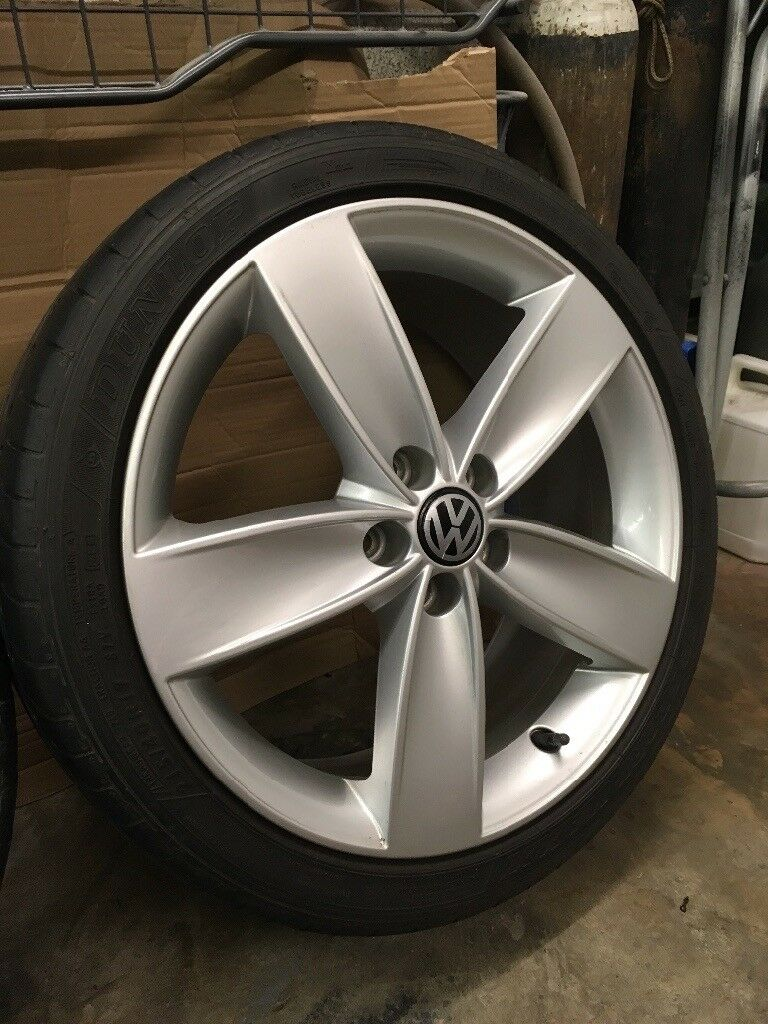 "Vw Polo 17"" Boavista alloy wheels set and tyres, Excellent Condition!"