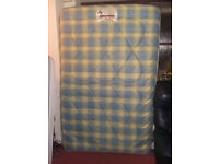 Small Double Mattress by Heli-beds - Good Condition - Free Delivery