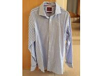 2 Marks & Spencer Collection Luxury Formal Pure Cotton Shirts 16 1/2 collar, regular fit