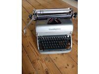 Remington Rand Super-Riter TYPEWRITER *tested working* antique