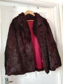 Genuine Coney Fur Jacket
