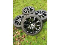 "20"" Range Rover Sport VW Transporter T6 T5 Alloy Wheels Tyres"