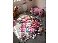 Baby girl bundle 0-3 3-6 6-9