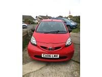 Red Toyota Aygo