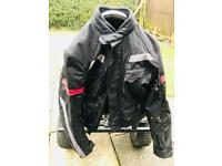 Motorcycle jacket trousers