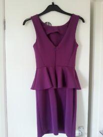 ladies Topshop evening dress size 8