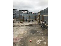 Open storage yard to rent 35ft x 55ft