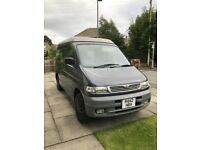 Much loved Mazda bongo 2.5 diesel. Low miles. 8 seater family car or 4 berth auto pop up roof.