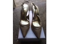 GOLD EVENING/PARTY SHOES