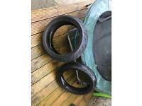 Dunlop sportmax/motorbike tyre/fireblade