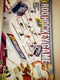 Rod hockey game