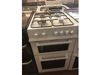 50CM WHITE GRILL/OVEN GAS COOKER