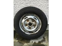 FORD TRANSIT WHEEL AND Maxmiler Pro TYRE Excellent Condition 195 70R 15C