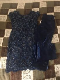 Midnight Blue Salwar / Indian Wear