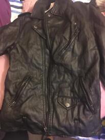 black jacket, size s/m