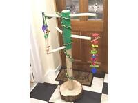 Handmade Parrot stand