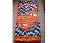 BRAND NEW sleeping bag CARS for kids, children