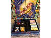 2004 PARKER GAMES MONOPOLY DUEL MASTERS SPECIAL EDITION 100% COMPLETE