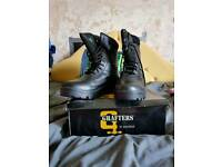 Size 8 steel toe capped boots