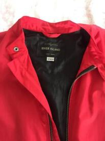 Red bomber jacket age 11-12