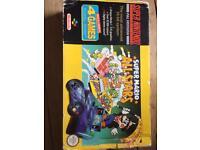 Boxed Super Mario all-stars edition Snes console Super Nintendo