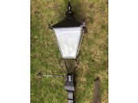 Lamp post lamp vintage look save£100s fully working ready to fit