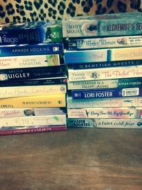 Selection off books