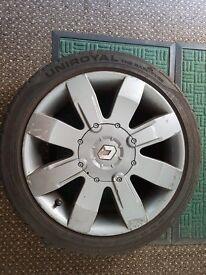 "Renault Clio 182 16"" alloy wheels"