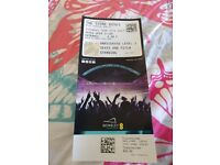 One pitch standing ticket for Stone Roses Wembley 17th June