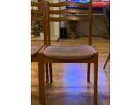 Dining chairs x4 £15