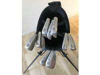 TOMMY ARMOUR IRONS and NEW RAM GOLF BAG - £75 - CASH ON COLLECTION ONLY