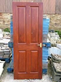 4 panel internal doors (#186&187)