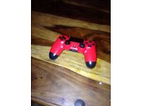 PS4 red controller
