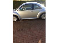 VW BEETLE. 6 months MOT. Very reliable car in good condition. £1500 ono
