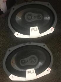 Brand new Fli 6x9 speakers - 375 watts