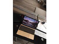 "MacBook 12"" Gold Retina Screen. (With Extras.)"